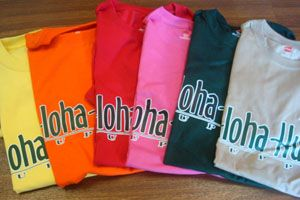 AHS-T ALOHA HULA SUPPLY T-SHIRTS