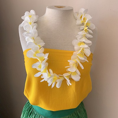 SINGLE PLUMERIA LEI