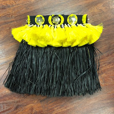 READY MADE COSTUME: FRINGE PRO SKIRT - BLACK