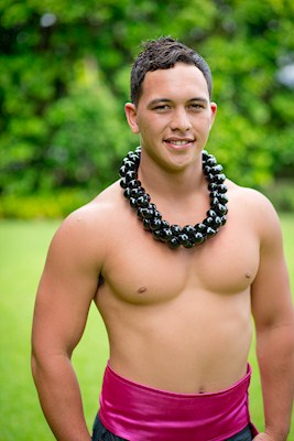 Twisted Kukui Nut Lei