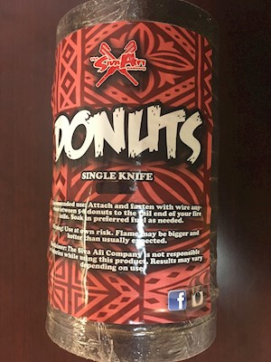 FIRE KNIFE DONUTS - LARGE