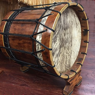 Pahu (Tahitian Bass drum)