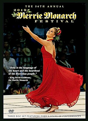 MERRIE MONARCH 2019 DVD SET