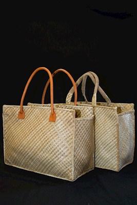 Lauhala Hula Bag